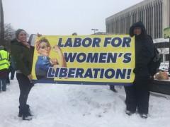 Women's March in Grand Rapids, MI.