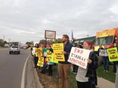 Minnesota emergency protest against the murder of  Palestinian children