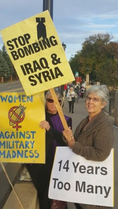 Twin Cites protest marks 14 years of U.S. war on Afghanistan
