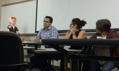 Speakers at U of MN immigrants rights event