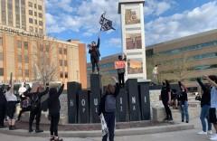 Appleton, WI protest against police terror.