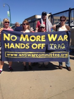 Minneapolis June 21 protest says no to new war in Iraq