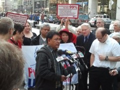 Press conference announcing NATO summit protest moved to May 20