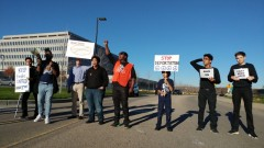 Protest at ICE Field Office against deportations of Cambodians
