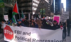 March 10 protest against political repression