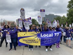 Cook County strikers.