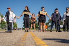 Twin Cities protest demand closure of Trump's concentration camps.