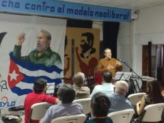 Evento en solidaridad con Cuba en San José, Costa Rica