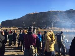 Protest against Dakota Access Pipeline.