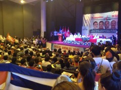 Cuban 5 speak at University of El Salvador July 21.