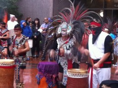 Indigenous People's Day at Occupy MN, October 10, 2011