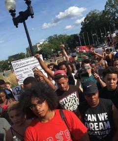 Marcha en DC por las vidas afroamericanas, Philando Castile y Alton Sterling