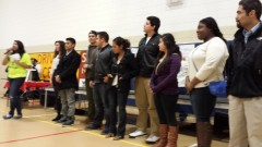 Dreamers speak at the March 14 meeting for drivers licenses for all in Minnesota