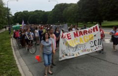 Over 1500 demonstrated for Dyke March Chicago