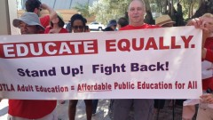 LA teachers stand up to attacks on public education