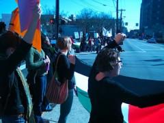 Gaza War Protest in Durham, NC