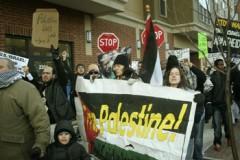 Gaza War Protest in Minneapolis, MN