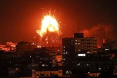 Gaza under attack.