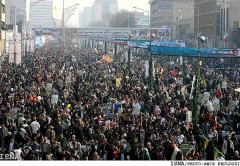 Millions demonstrate in Tehran