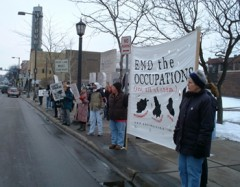 Minneapolis protest against Iraqi elections