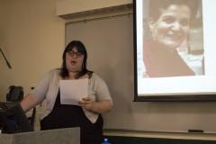 Michela Martinazzi of University of Florida SDS speaks
