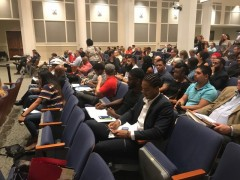 Members of the Jacksonville Community Action Committee (JCAC) gathered