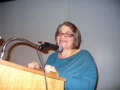 Jess Sundin speaks at December 15 Minneapolis CSFR forum