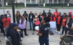 Jacksonville protest demands justice for Jamee Johnson.