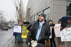 Protest in North Carolina against FBI, Grand jury repression