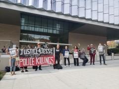 LA protest demand justice for Jesse Romero.