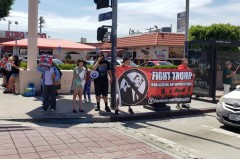 LA protest agaisnt raids and deportations.