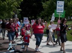 June 14 protest against Governor Walker's budget