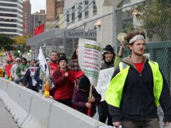 Milwaukee activists demand permits for march on DNC.