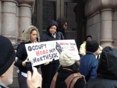 MLK day rally at Minneapolis City Hall