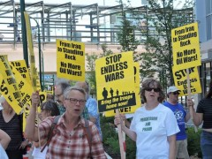Twin Cites anti-war protest.
