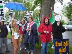 Protest in Minneapolis of Israeli massacre of Freedom Flotilla activists
