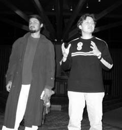 Photo of Meneses and Quijano in St. Paul Minnesota.