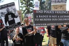 LA protest demands justice for Anthony Vargas.
