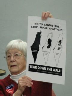 "Milwaukee teach in on ""Occupy Wall Street, Not Palestine."""