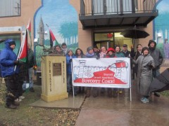 Minneapolis stands in solidarity with Palestine, commemorating the anniversary
