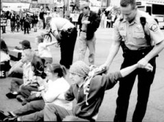 Civil disobedience in Minneapolis