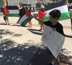 Utah rally in Solidarity with Palestine