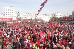 PFLP rally in Gaza on 42nd Anniversary