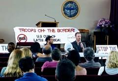 South Florida panel discussion denouncing U.S. coup attempts in Venezuela.