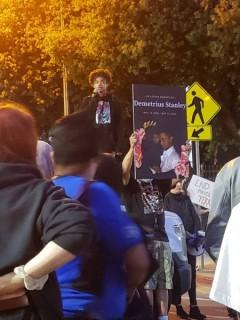 San Jose protest demands justice for Demetrius Stanley.