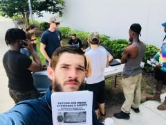 Jacksonville Teamsters demand UPS reinstate Dustin Ponder.