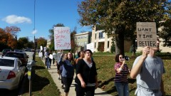 Students support Pennsylvania faculty strike