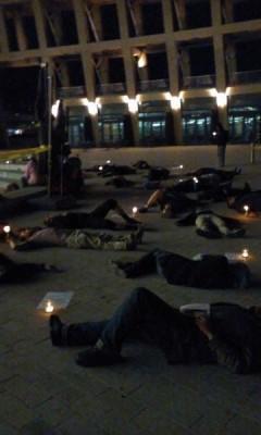 Salt Lake City activists protest police brutality.
