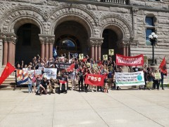 Salt Lake City rally for International Workers Day.