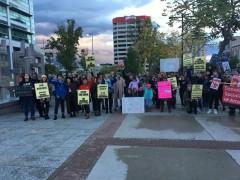 Salt Lake City protest against Kavanaugh.